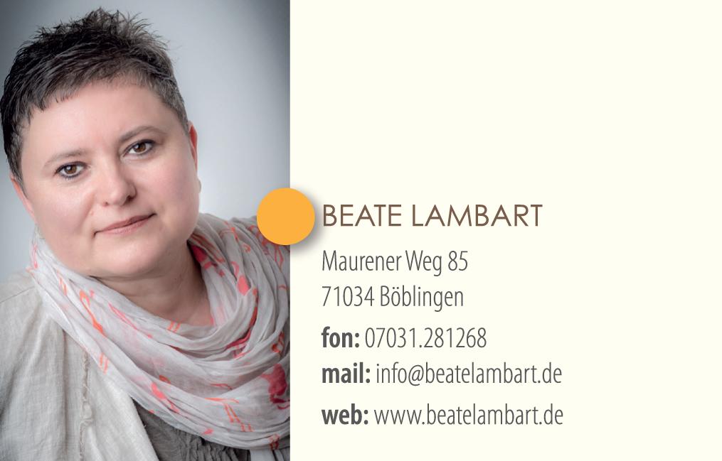 Beate Lambart - Systemische Beratung und Coaching